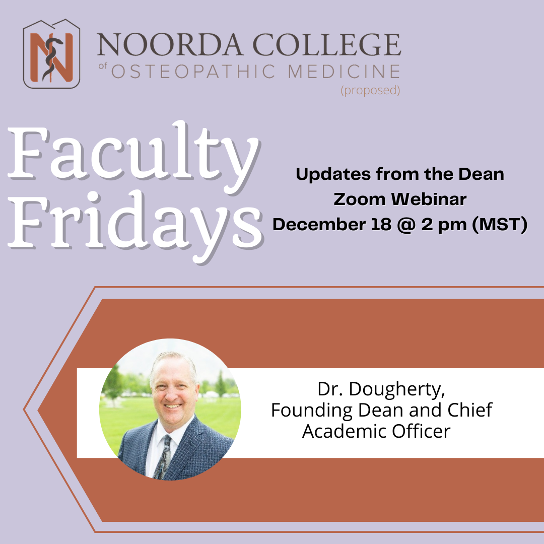 Faculty Friday 12/18/20